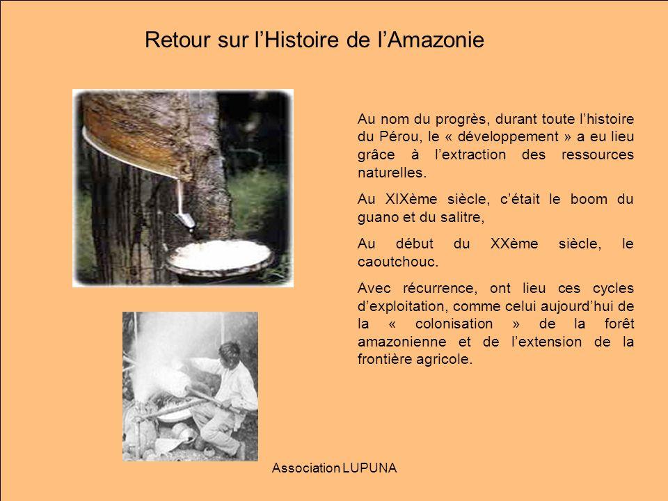 Retour sur l'Histoire de l'Amazonie