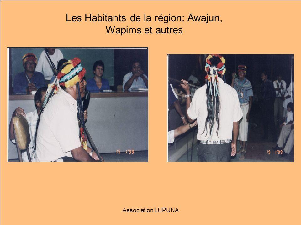Les Habitants de la région: Awajun, Wapims et autres