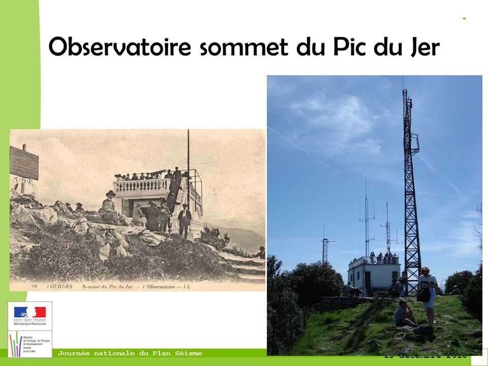 Observatoire sommet du Pic du Jer