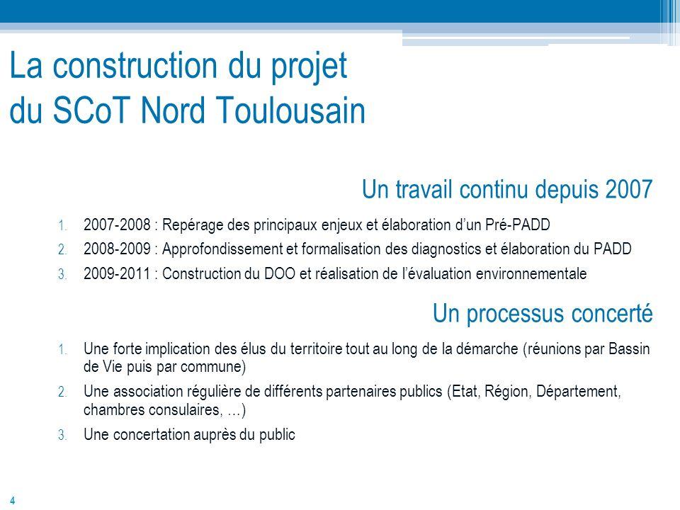 La construction du projet du SCoT Nord Toulousain