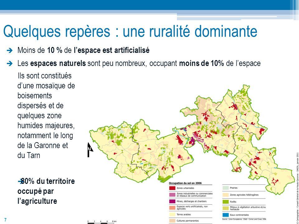 Quelques repères : une ruralité dominante