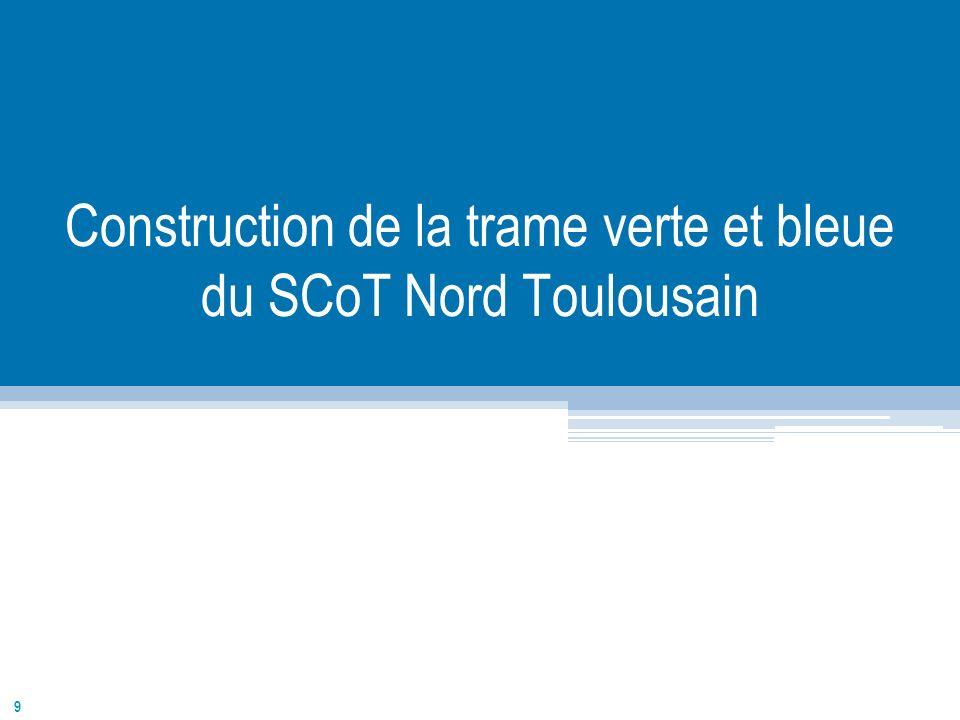 Construction de la trame verte et bleue du SCoT Nord Toulousain