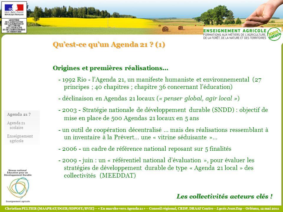 Qu'est-ce qu'un Agenda 21 (1)