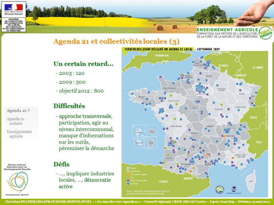 Agenda 21 et collectivités locales (3)