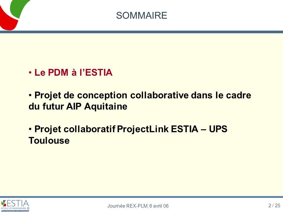 Projet collaboratif ProjectLink ESTIA – UPS Toulouse