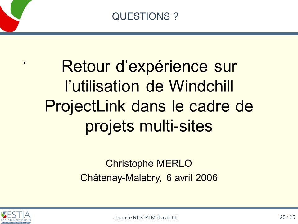 Châtenay-Malabry, 6 avril 2006