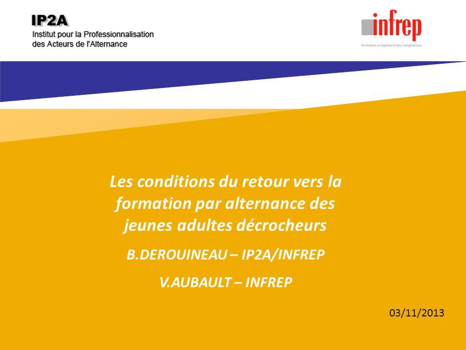 B.DEROUINEAU – IP2A/INFREP