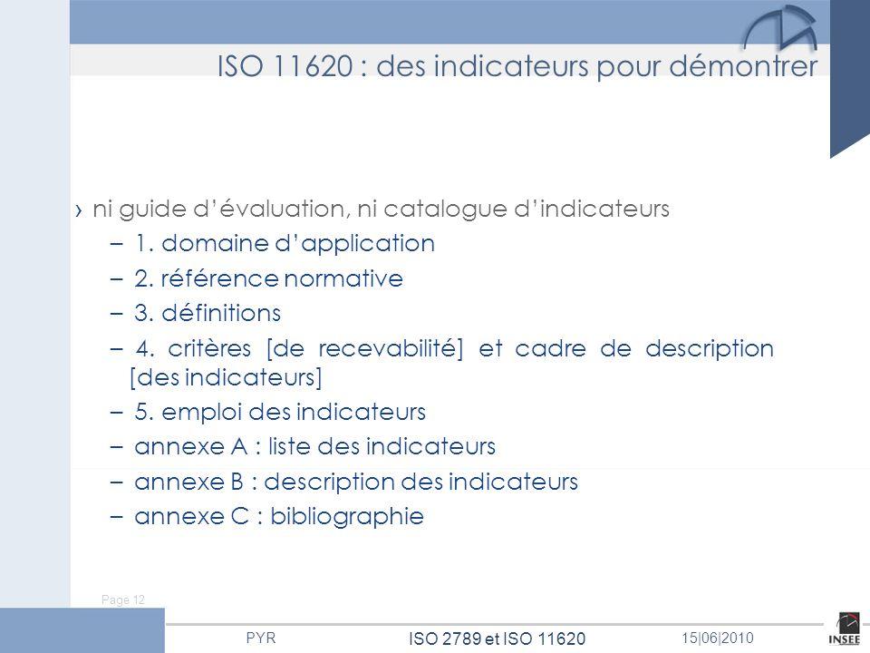 ISO 11620 : des indicateurs pour démontrer