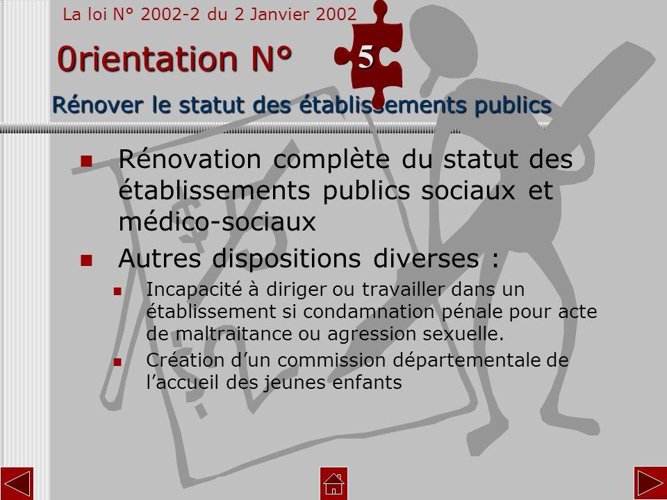 Rénover le statut des établissements publics