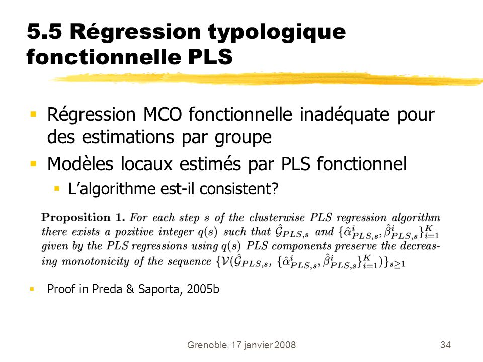 5.5 Régression typologique fonctionnelle PLS