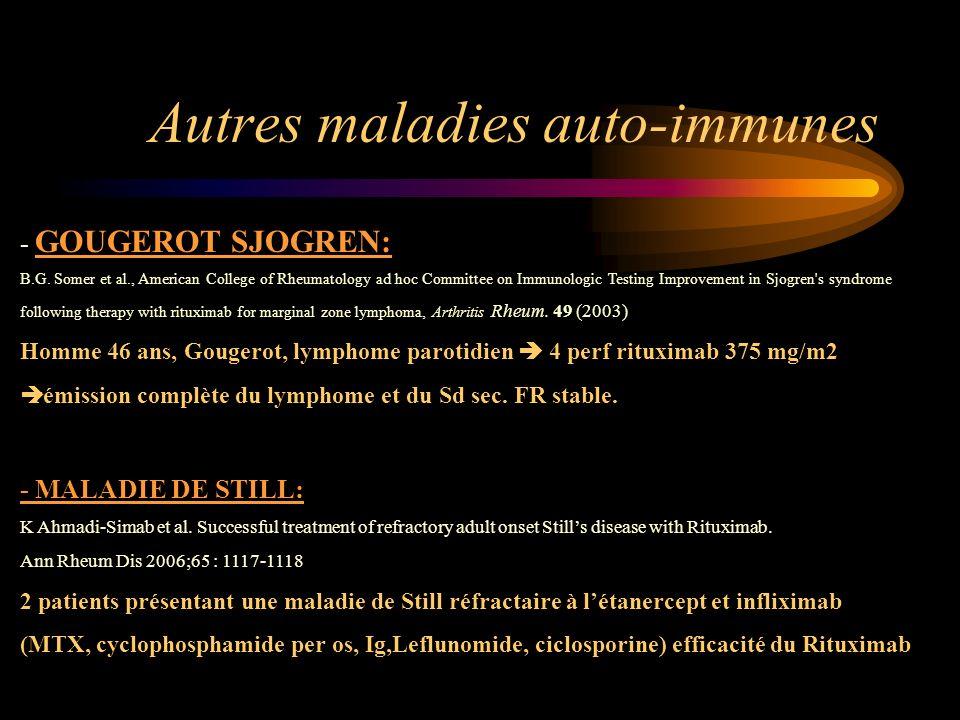 Autres maladies auto-immunes