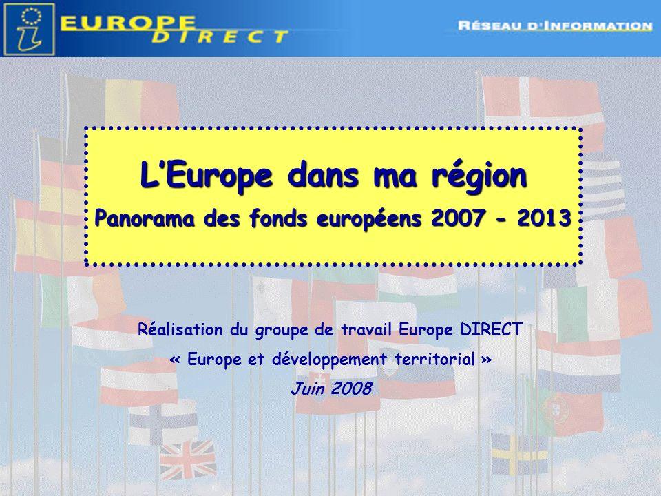 L'Europe dans ma région