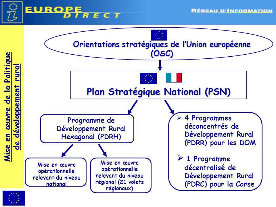 Plan Stratégique National (PSN)