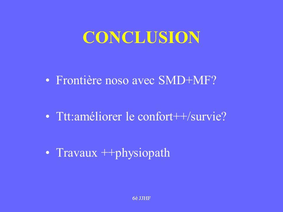 CONCLUSION Frontière noso avec SMD+MF