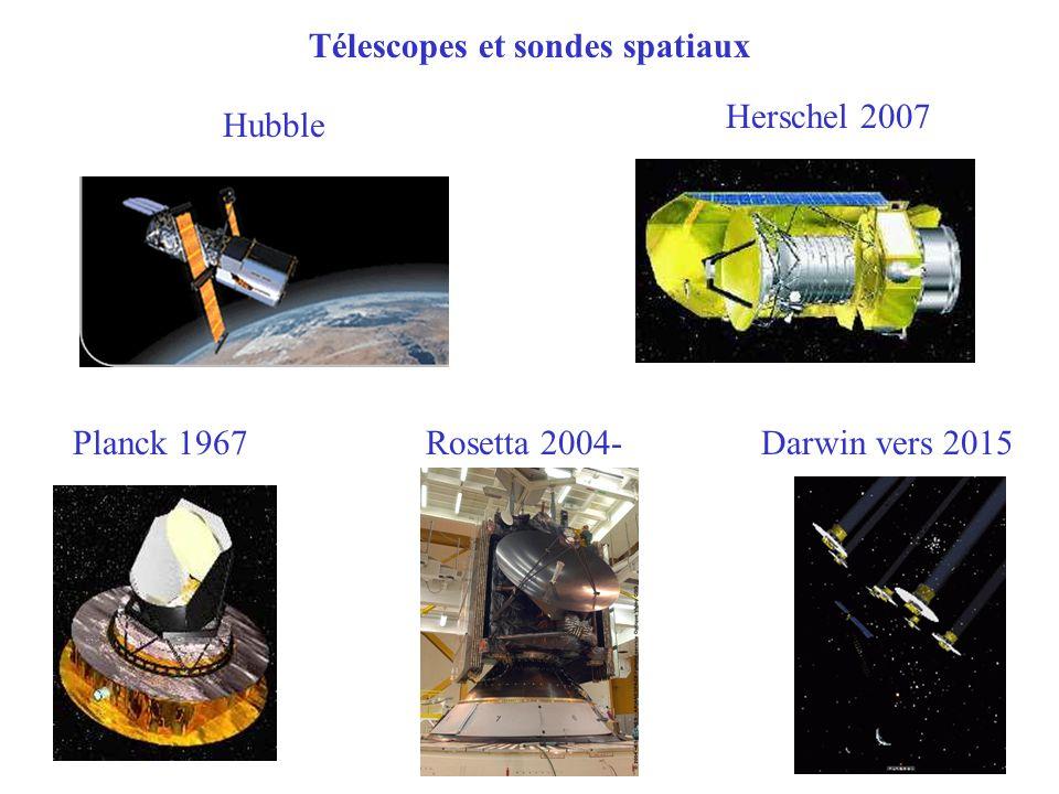 Télescopes et sondes spatiaux
