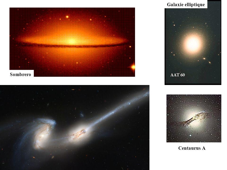 Galaxie elliptique Sombrero Centaurus A Les Antennes