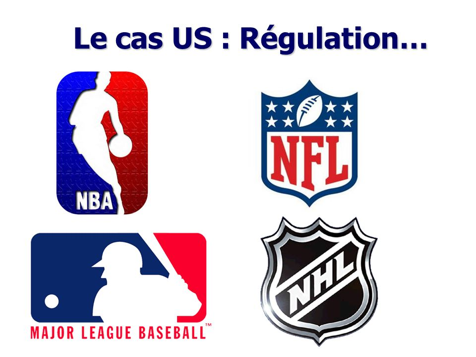 Le cas US : Régulation…