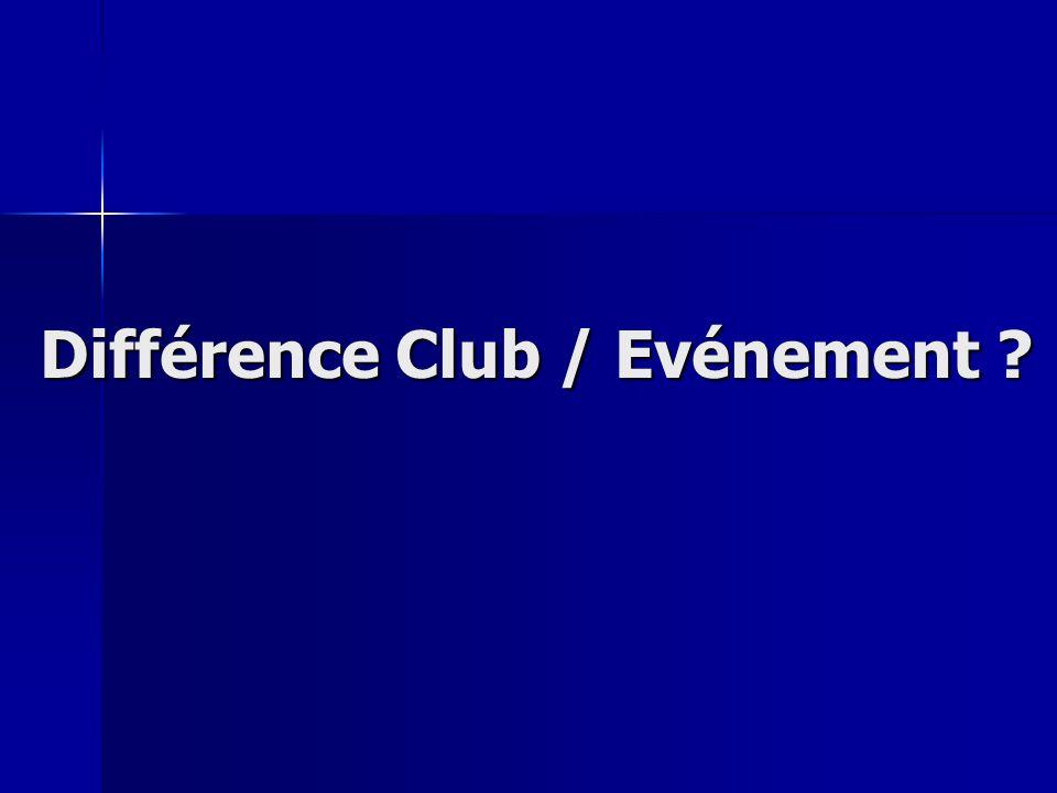 Différence Club / Evénement