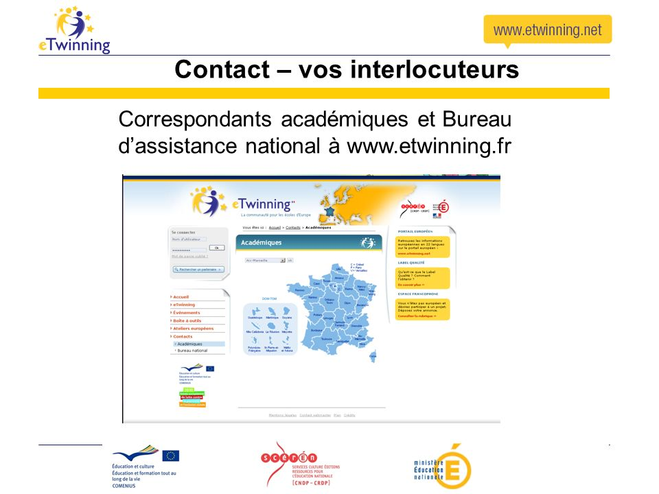 Contact – vos interlocuteurs