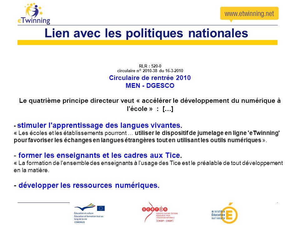 RLR : 520-0 circulaire n° 2010-38 du 16-3-2010