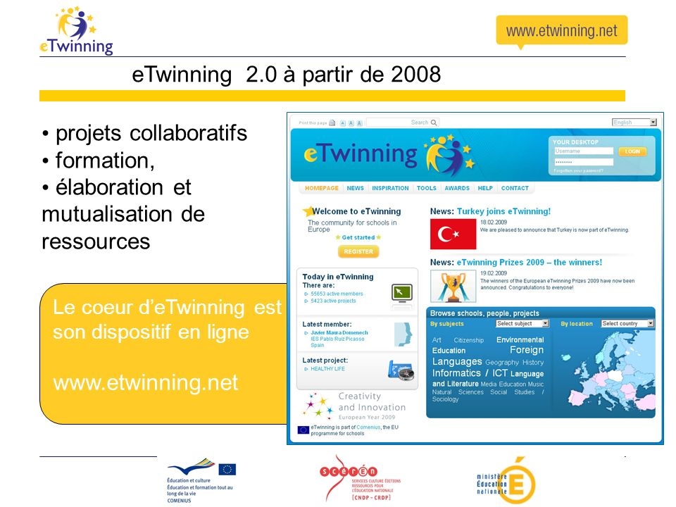 projets collaboratifs formation,