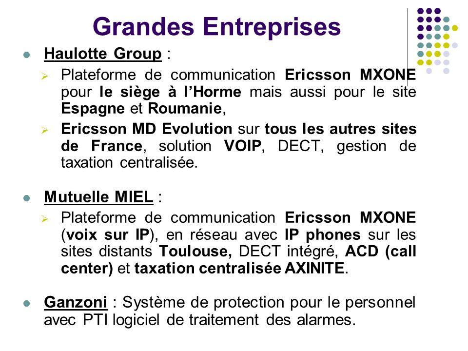 Grandes Entreprises Haulotte Group : Mutuelle MIEL :