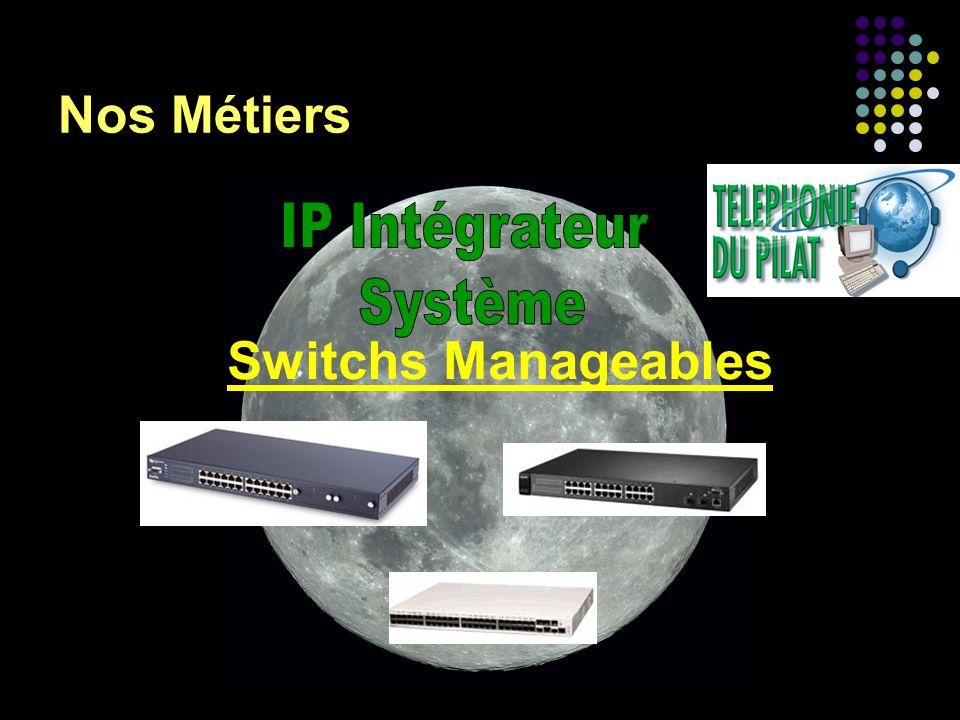 Nos Métiers IP Intégrateur Système Switchs Manageables