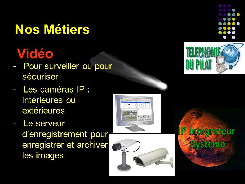 Vidéo Nos Métiers IP Intégrateur Système
