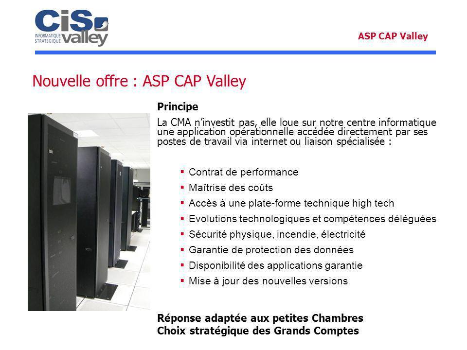 Nouvelle offre : ASP CAP Valley
