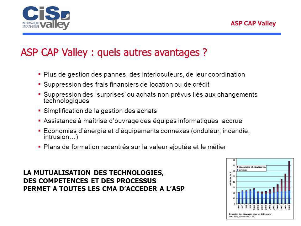 ASP CAP Valley : quels autres avantages