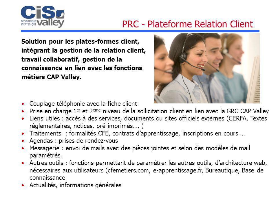 PRC - Plateforme Relation Client