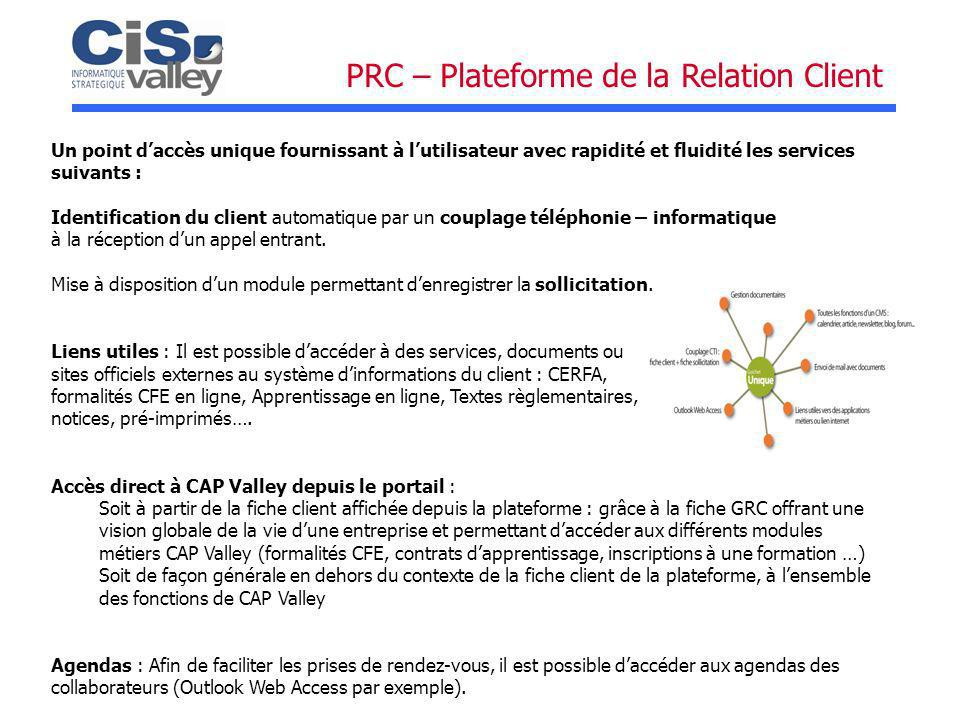 PRC – Plateforme de la Relation Client