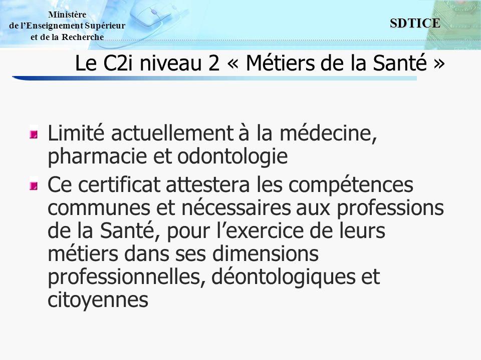 Le C2i niveau 2 « Métiers de la Santé »
