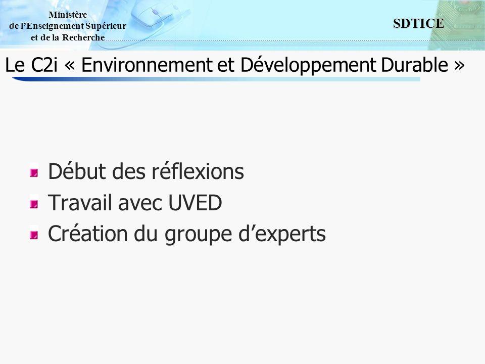 Le C2i « Environnement et Développement Durable »