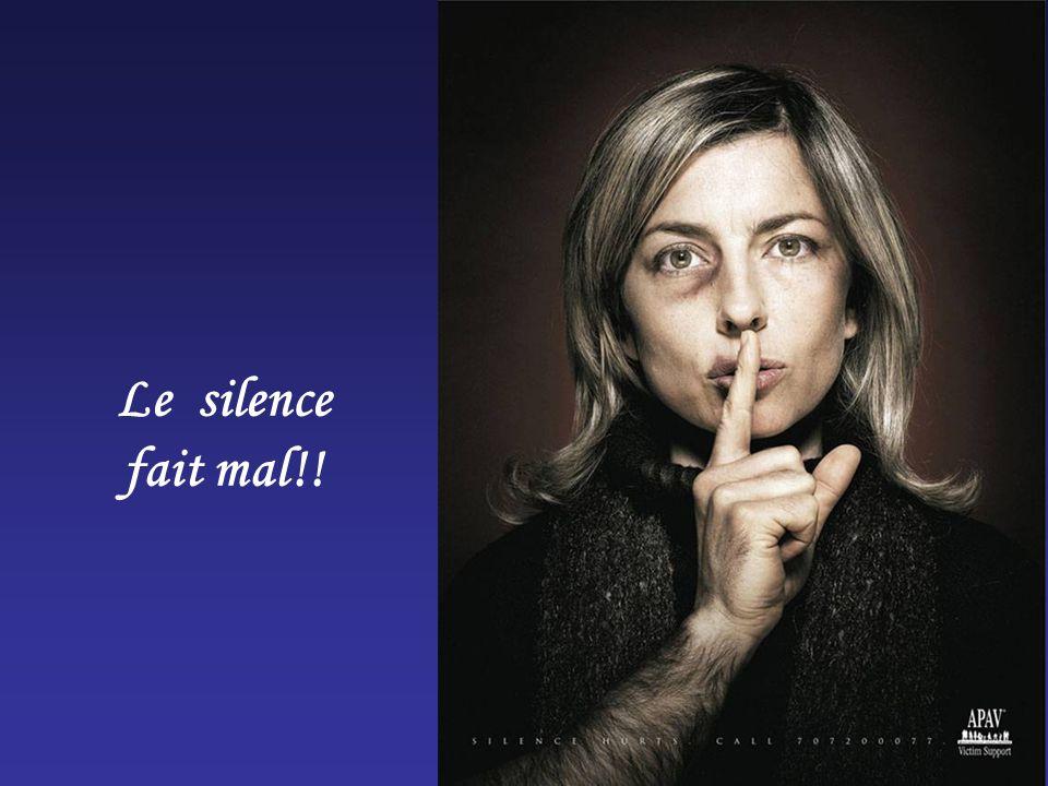 Le silence fait mal!!