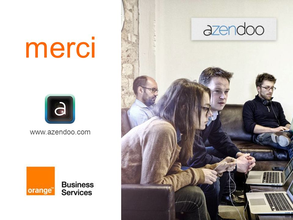 merci www.azendoo.com presentation title 12