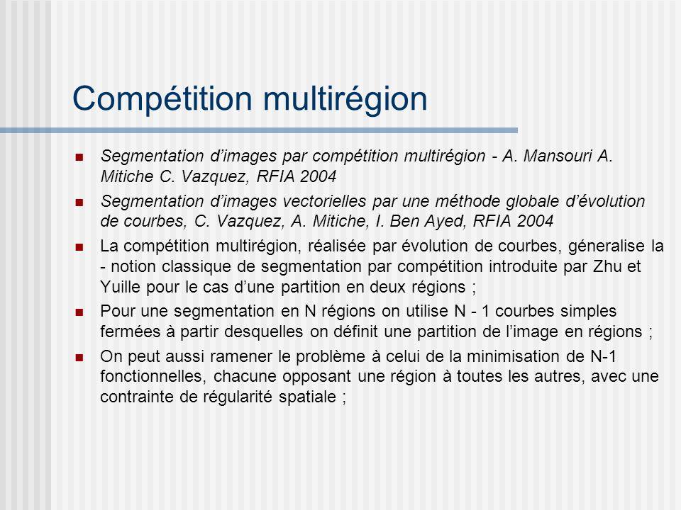 Compétition multirégion