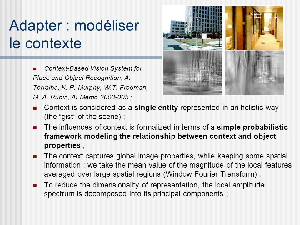 Adapter : modéliser le contexte