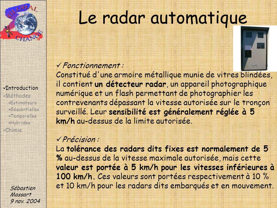 Le radar automatique Fonctionnement :
