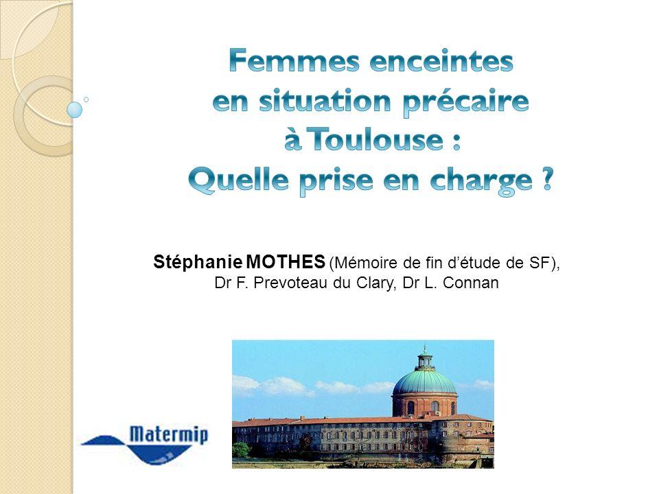Femmes enceintes en situation précaire à Toulouse : Quelle prise en charge