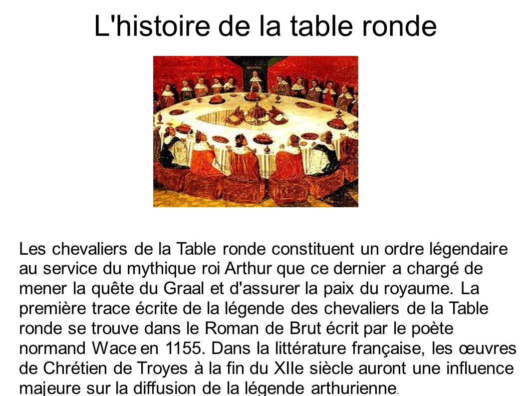 Le roi arthur ppt video online t l charger - Qui est merlin dans les chevaliers de la table ronde ...