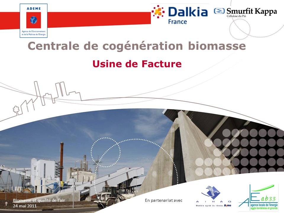 Centrale de cogénération biomasse