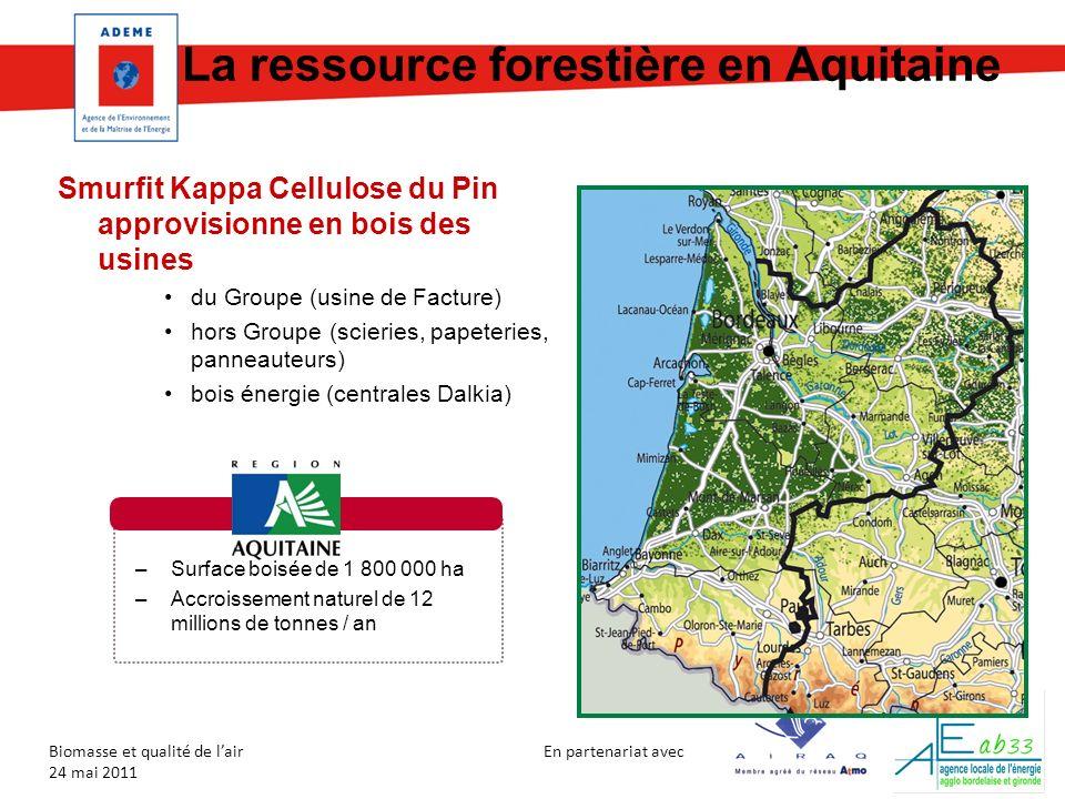 La ressource forestière en Aquitaine