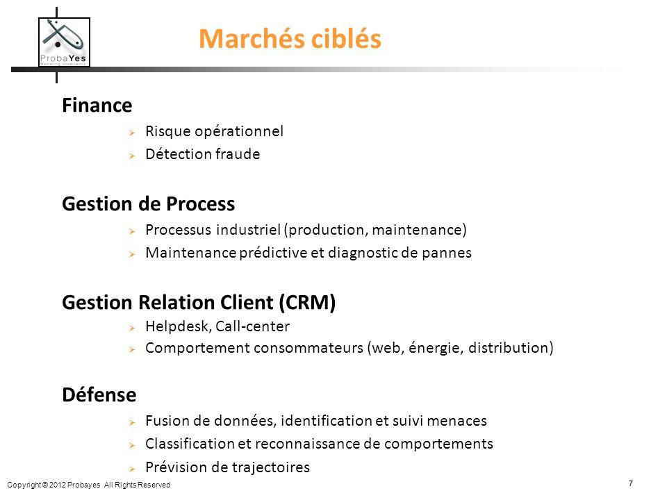 Marchés ciblés Finance Gestion de Process