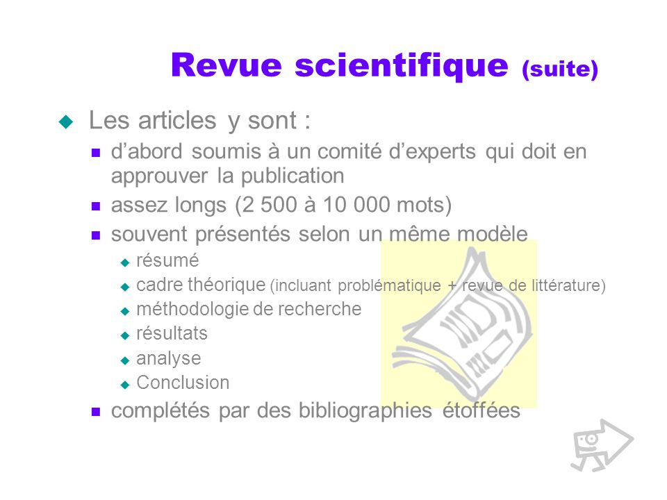 Revue scientifique (suite)