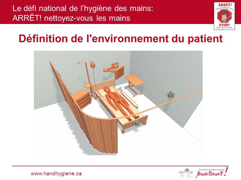 Définition de l environnement du patient