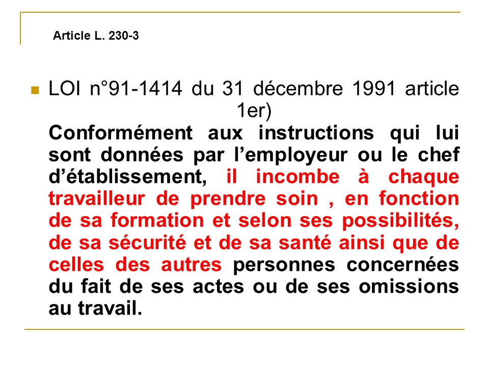 Article L. 230-3