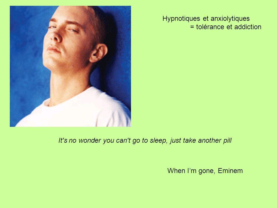 Hypnotiques et anxiolytiques
