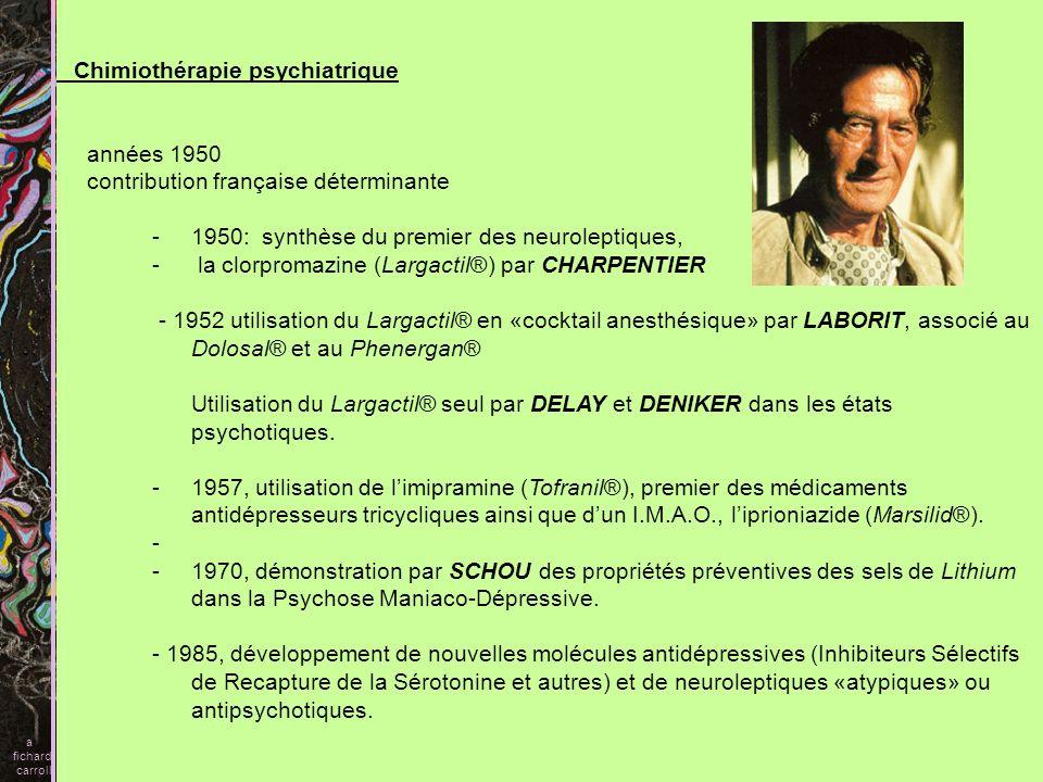 Chimiothérapie psychiatrique