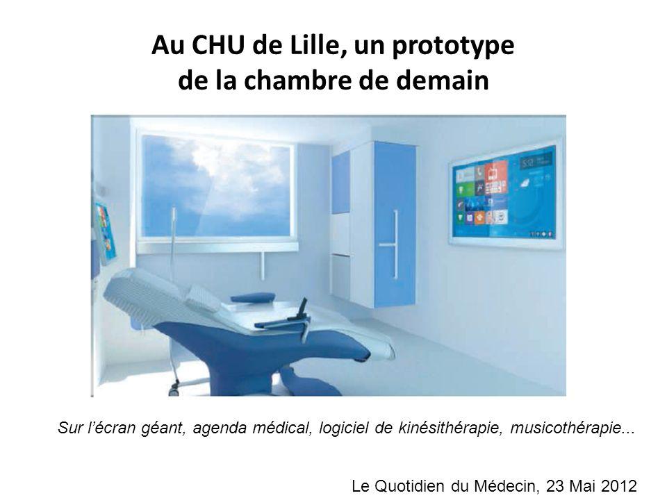 Au CHU de Lille, un prototype de la chambre de demain